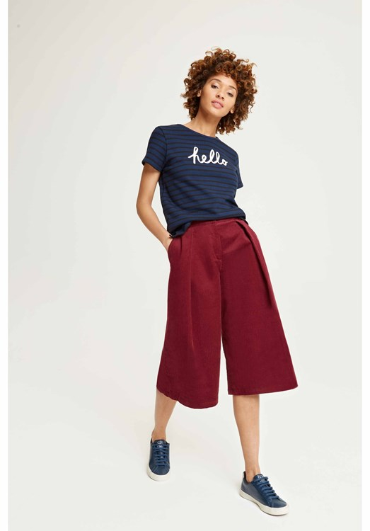 Janine Corduroy Culottes from People Tree