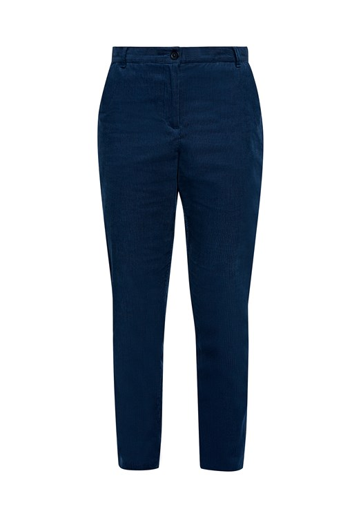 Kana Corduroy Trousers in Blue