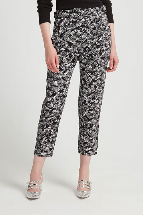 Monica Trousers in Black Multi