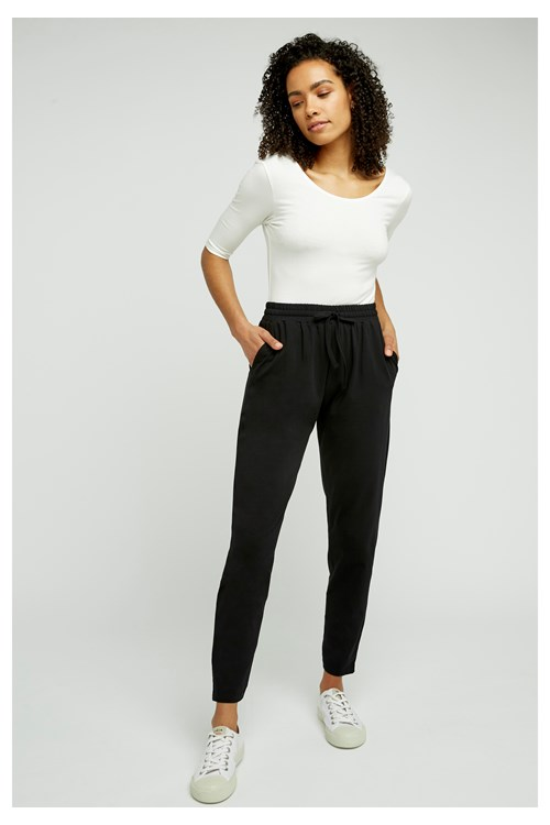 Sasha Trousers in Black from People Tree