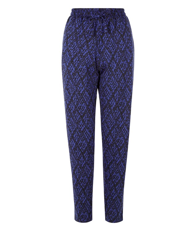 Tasha Jersey Trousers in Blue