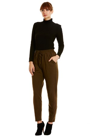 Tasha Trousers in Khaki