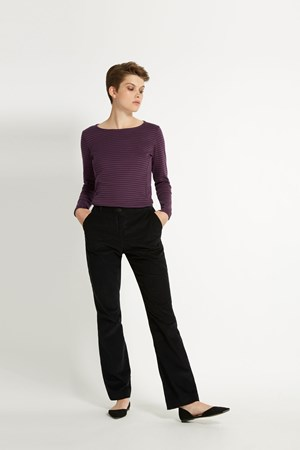 Tierney Corduroy Trousers in Black
