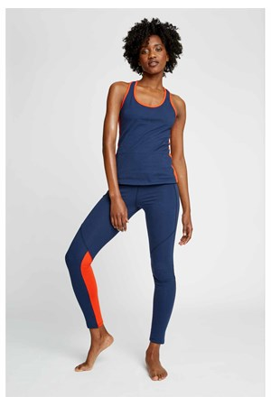 Yoga Colourblock Leggings in Fiesta