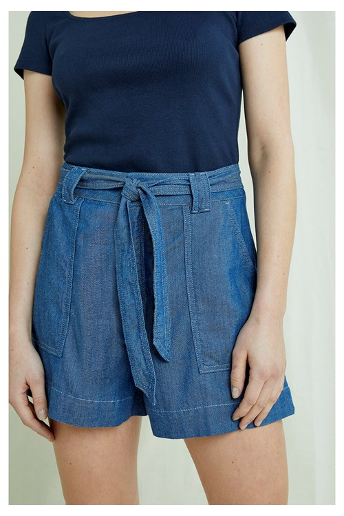 Zahara Lightweight Denim Shorts