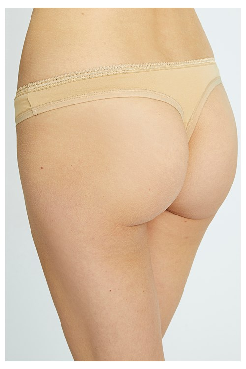 Thong in Almond